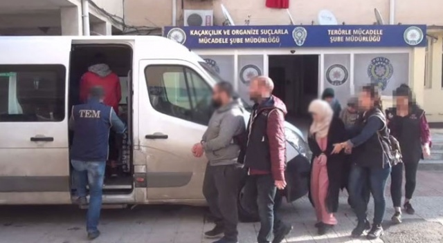 Şanlıurfa'da Avrupalı 5 Deaş'lı tutuklandı
