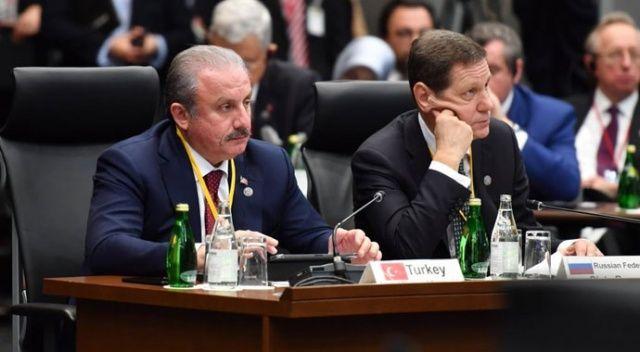 Şentop'tan G20 Parlamento Başkanları Zirvesinde BM ve G20 eleştirisi