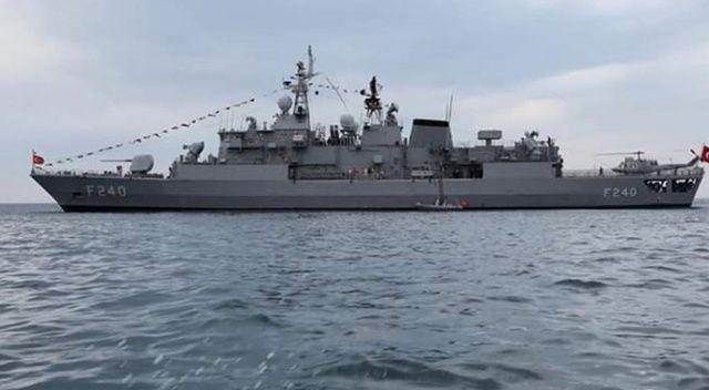 TCG Yavuz Gemisi Ordu'da