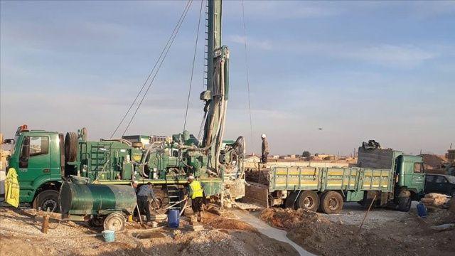 Tel Abyad ve Resülayn'ın su sorunu çözülüyor