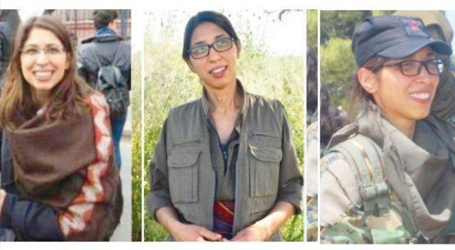Terörist Özge Aydın, YPG/PKK'nın yasa dışı sol örgütlerle ilişkisini bir kez daha ortaya çıkardı