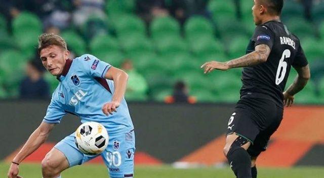 UEFA Avrupa Ligi: Trabzonspor'un tur şansı kalmadı