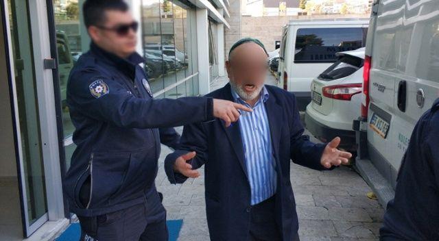 Veraset ilamı için adliyeye gelen yaşlı adama tutuklanma şoku