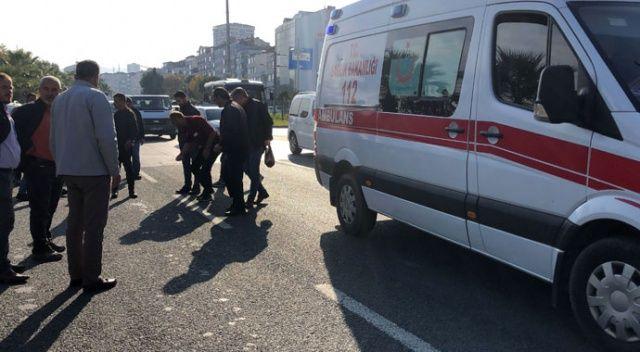 Yolun karşısına geçmek isteyen öğrenciye kamyonet çarptı: 1 yaralı