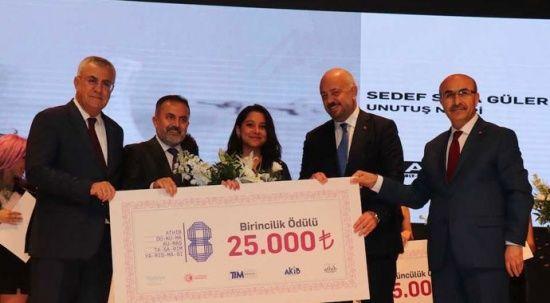 ATHİB Dokuma Kumaş Tasarım Yarışması'nın ödülleri verildi