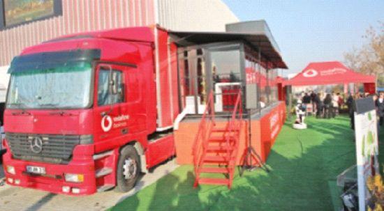 Teknoloji tırı Ankara'ya park etti