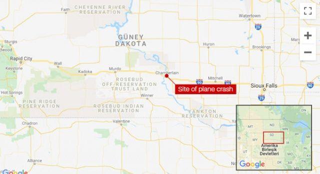 ABD'de küçük uçak düştü: 9 ölü