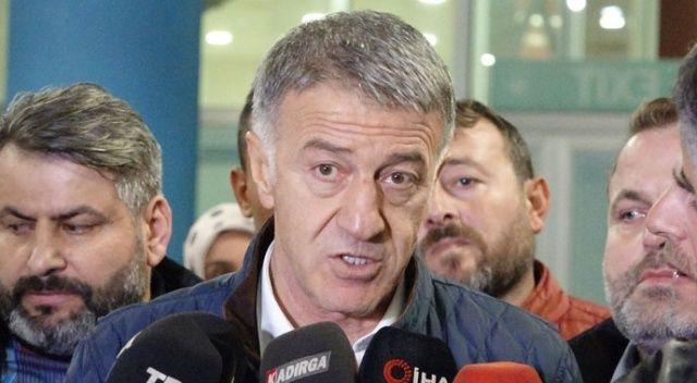 Ahmet Ağaoğlu: İnşallah son dakikalarda kaybettiğimiz puanları aramayız