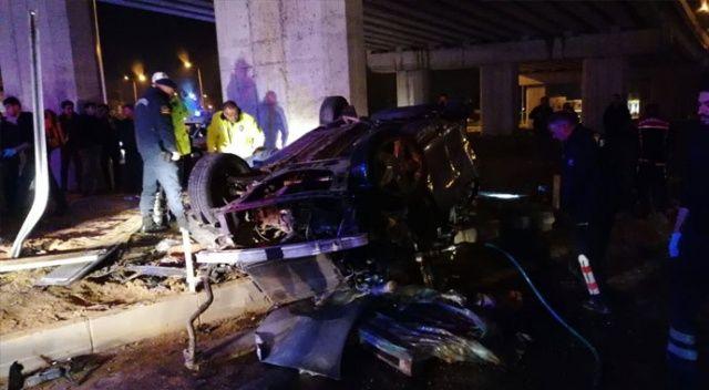 Antalya'da feci kaza: Sürücü hayatını kaybetti