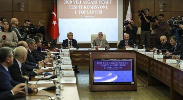Asgari Ücret Tespit Komisyonu ikinci toplantısı sona erdi