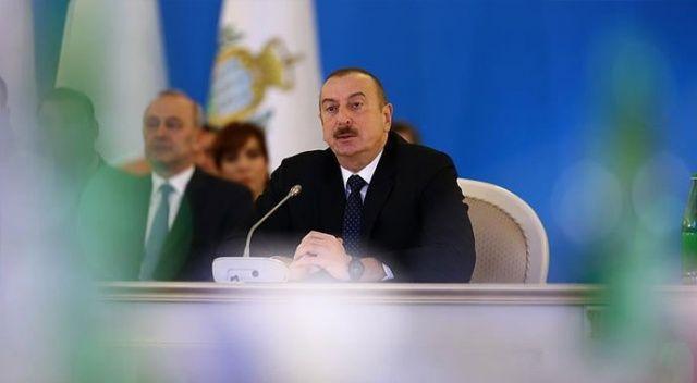 Azerbaycan Cumhurbaşkanı Aliyev, Türkiye ile ilişkilerine ilişkin açıklamalarda bulundu