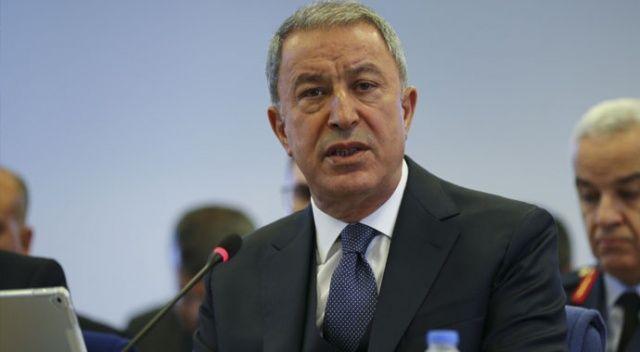 Bakan Akar: NATO Türkiye'yi yalnız bıraktı