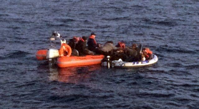 Bodrum'da 19 Güney Afrikalı göçmen yakalandı