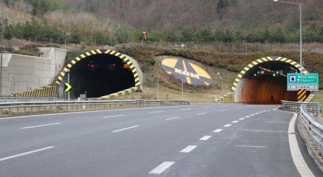 Bolu Dağı Tüneli trafiğe kapatıldı!