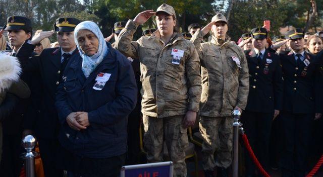 Bomba imha uzmanı şehit Esra Çevik son yolculuğuna uğurlandı