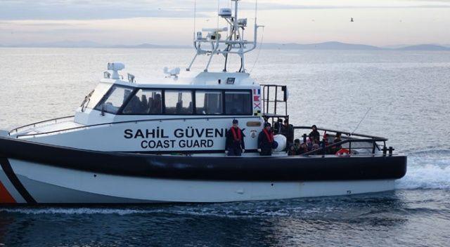 Çanakkale'de 98 düzensiz göçmen yakalandı