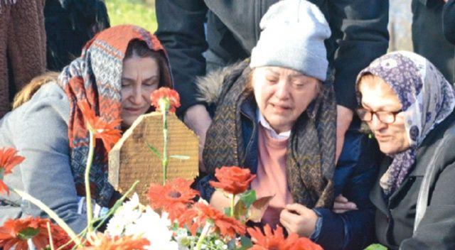 Ceren'in doğum gününde mezarına geldiler