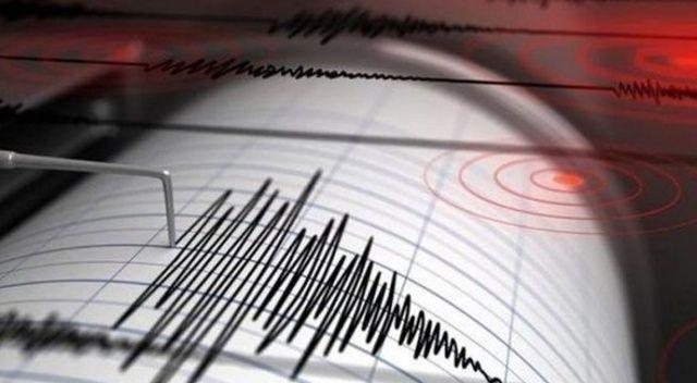 Denizli'de 3.7 büyüklüğünde deprem