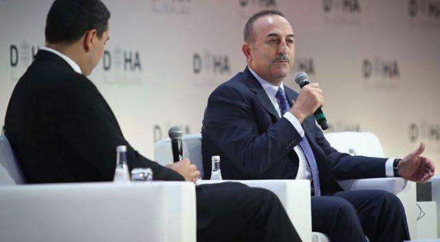 Dışişleri Bakanı Çavuşoğlu: Yaptırımlar ve tehditkar dil asla işe yaramaz