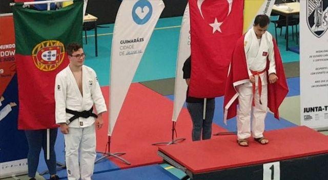 Down Sendromlular Dünya Judo Şampiyonası'nda altın madalya geldi!