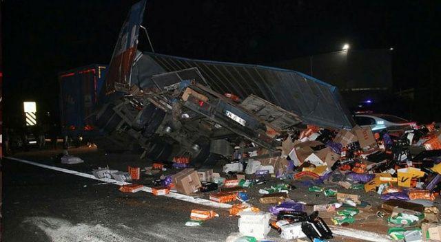 Düzce'de feci kaza...  Çok sayıda ölü ve yaralı var!