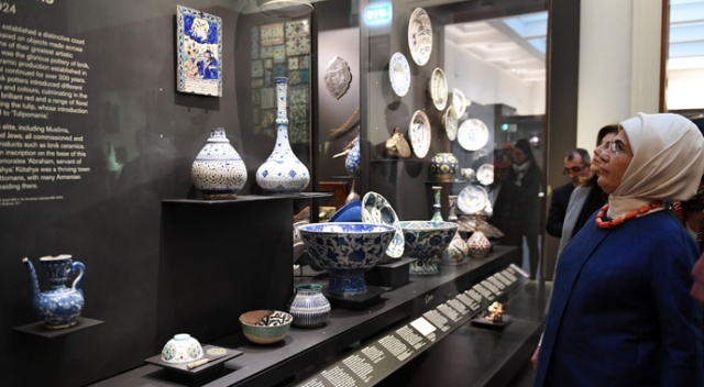 Emine Erdoğan, British Museum'u gezdi