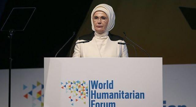 """Emine Erdoğan: """"Kadına yönelik şiddet denen illetten kurtulmanın yolu, aile içinin şiddetten arındırılmasıyla mümkün"""""""