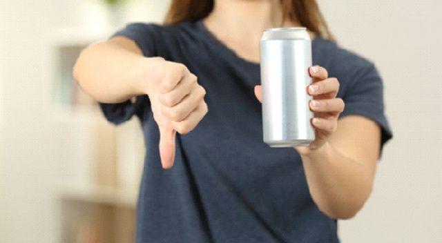 Enerji  içecekleri ile gelen tehlike