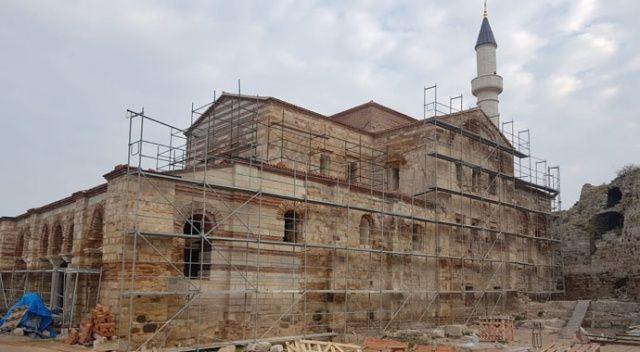 Enez'in Ayasofya'sı ibadete açılıyor
