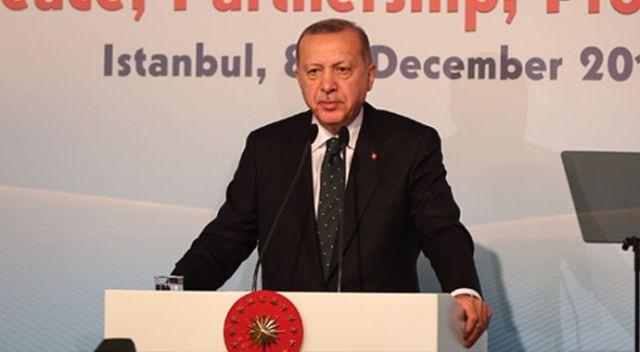 Erdoğan: Eninde sonunda bize destek vereceksiniz!