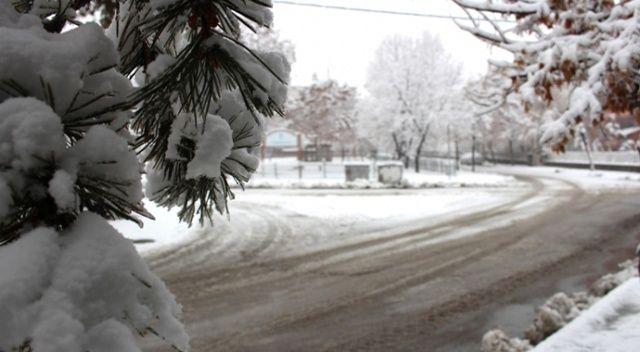 Erzurum'da kar hayatı olumsuz etkiledi