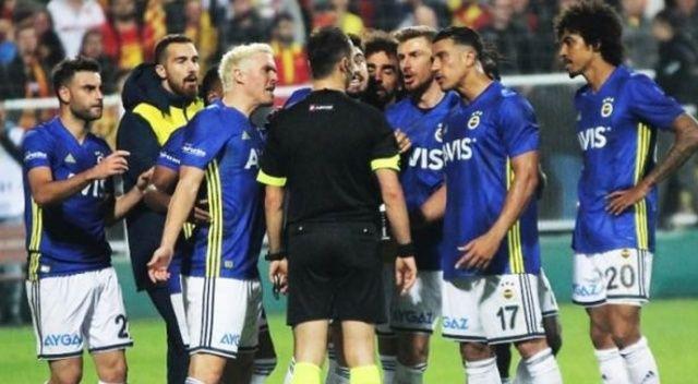 Fenerbahçe'den çok sert hakem açıklaması!