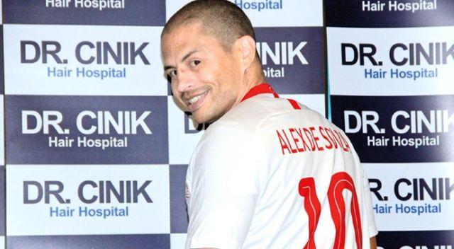 Fenerbahçe'nin efsane kaptanı Alex göz kırptı!