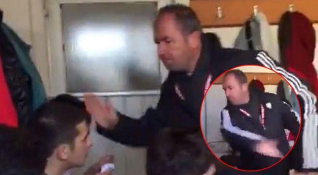 Futbolcularını döven antrenör Halit Kurt'un cezası onandı