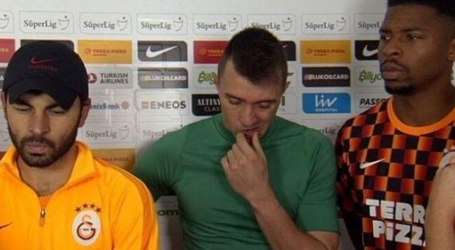 Galatasaray'da 3 kaptan sorumluluğu üstlendi