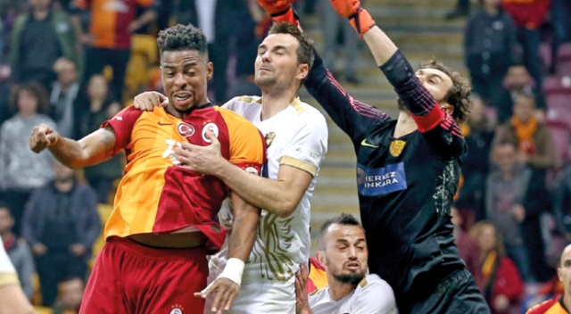 Galatasaray'da maç sonrası kaptanlar konuştu