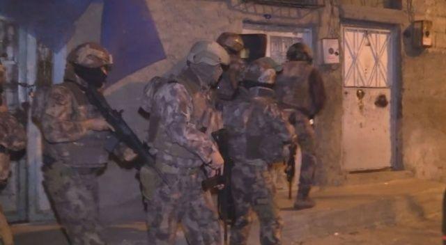 Gaziantep'te 890 polisin katılımıyla uyuşturucu operasyonu düzenlendi