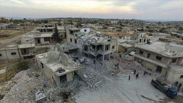 İdlib'de rejim ve Rusya'nın saldırılarında 2 sivil öldü