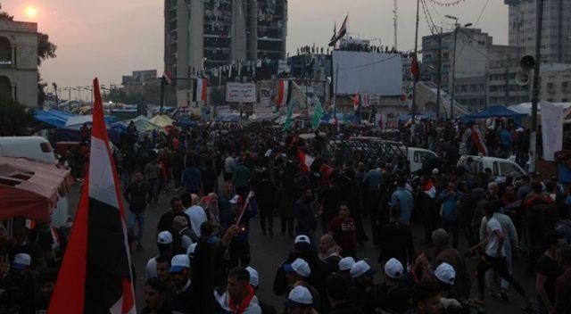 Irak'ın Necef vilayetinde 25 gösterici yaralandı