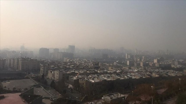 İran'da hava kirliliğinden etkilenen 1541 kişi hastanelere başvurdu