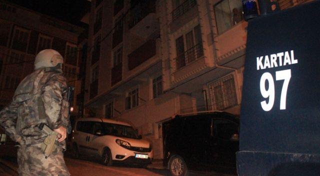 İstanbul'da silahlı suç örgütüne operasyon! Gözaltılar var