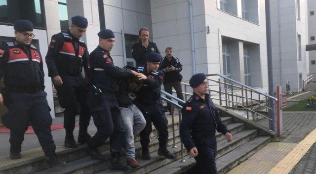 Jandarmanın elinden kaçan tutuklu yakalandı