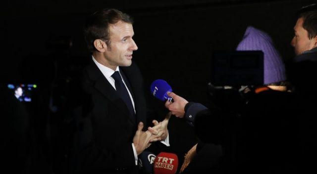 Macron, NATO'yu eleştirirken ABD'nin ittifaka katkısını kastetmediğini söyledi