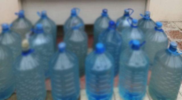 Malatya'da bin litre sahte içki ele geçirildi
