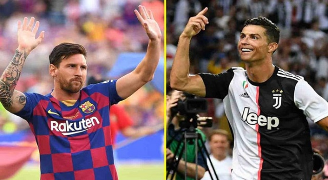 Messi tarihe geçti! Ronaldo...