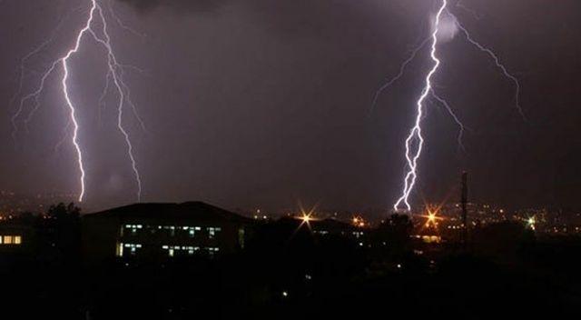 Meteorolojiden 3 il için 'gök gürültülü sağanak' uyarısı
