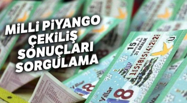 Milli Piyango Çekiliş Sonuçları Bilet NO SORGULAMA EKRANI (MPİ kazanan numaralar bilet sıralı TAM LİSTE SORGULAMA)