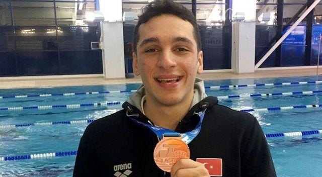 Milli yüzücü Ümitcan Güreş Avrupa üçüncüsü