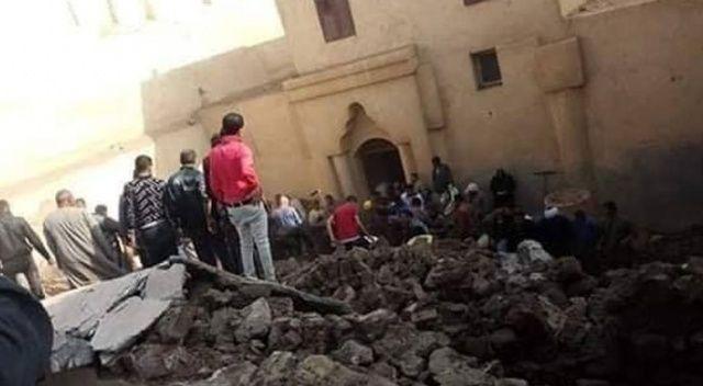 Mısır'da tarihi kilisenin duvarı çöktü: 2 ölü, 4 yaralı