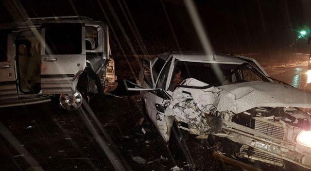 Niğde'de zincirleme kaza: 9 yaralı